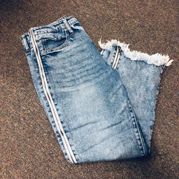 3560e6df38dc8c Wild Fable zipper jeans. M_5be8ae7f6a0bb7d7ba185638
